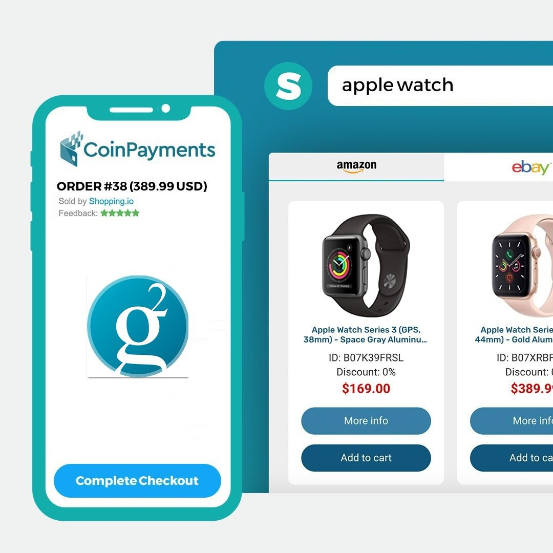Groestlcoin $GRS is now accepted at Shopping.io