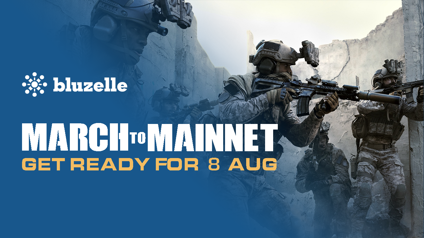 Bluzelle is marching to Mainnet. Get ready for 8 Aug