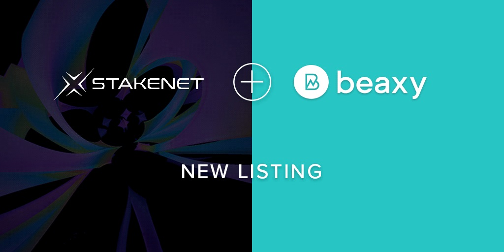 XSN is now listed on Beaxy