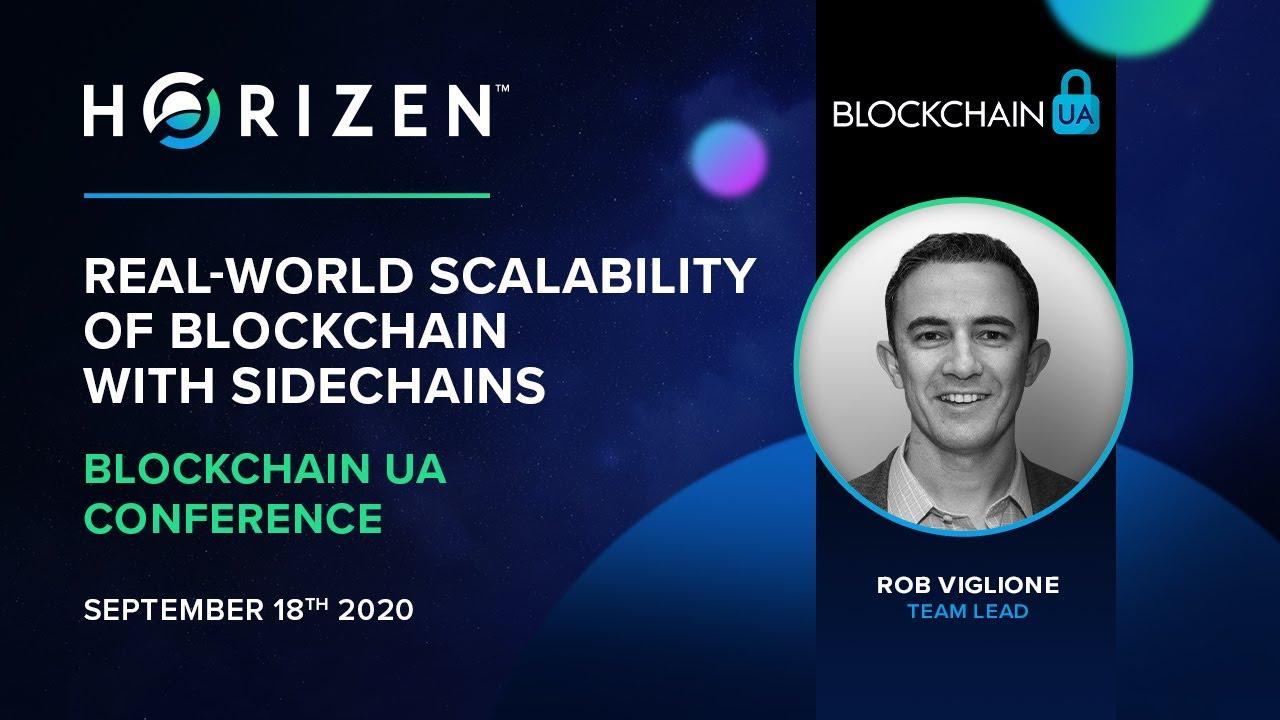 Rob Viglione Presents at Blockchain UA Conference 2020.