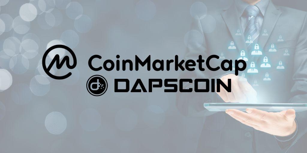 DAPS on Coinmarketcap Signals