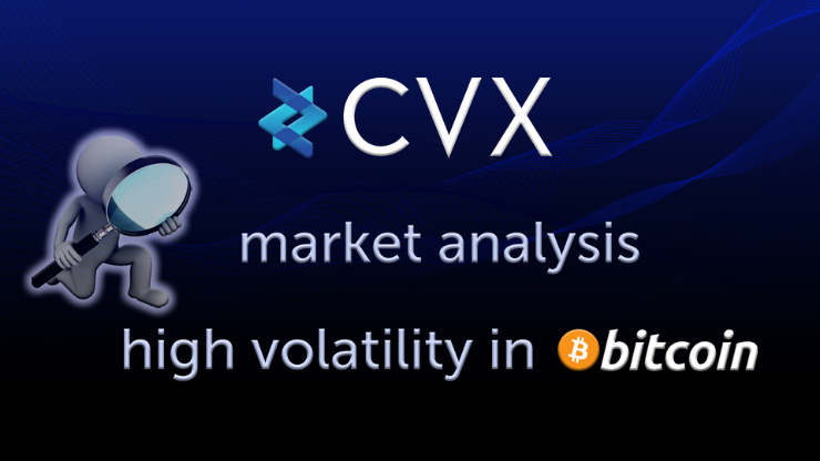 CVX has reached an All-Time-High as the market sees high volatility in BTC price levels