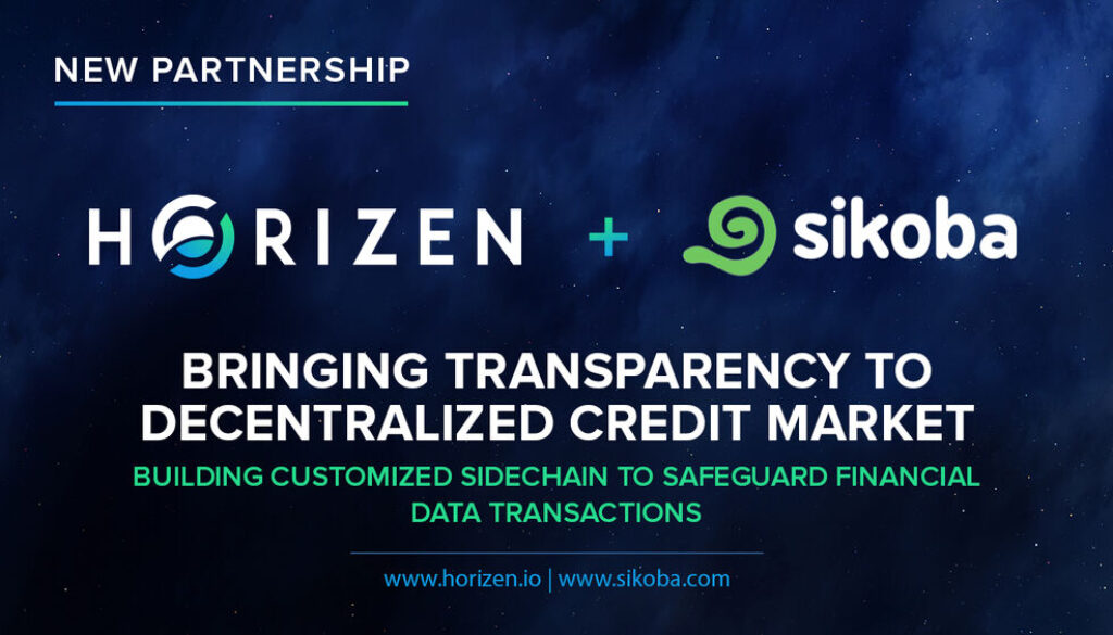 Sikoba And Horizen Partner To Bring Transparency To The Decentralized Credit Market