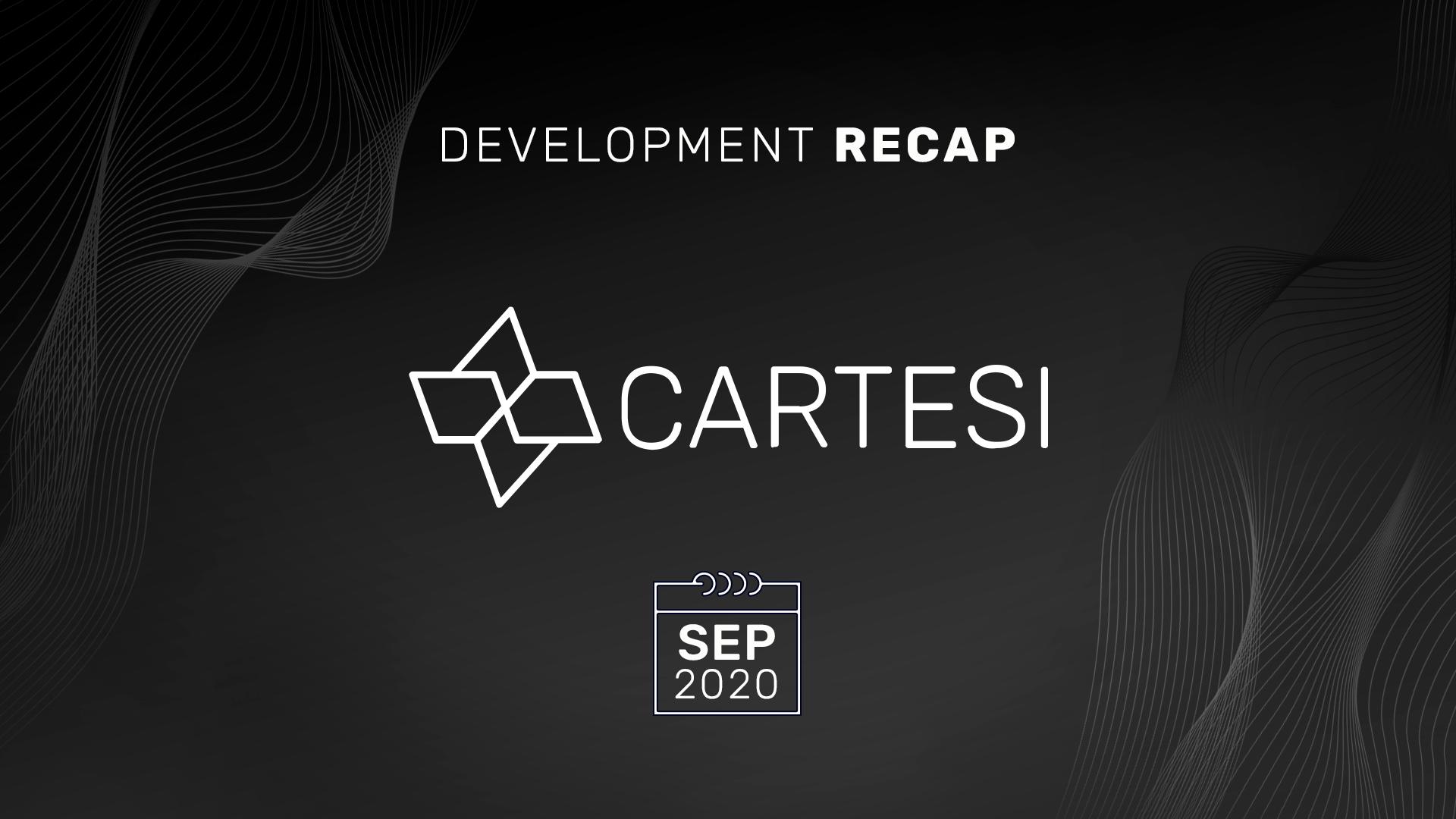 September Development Recap - DApp Incubation Program and PoS Prototype Inbound