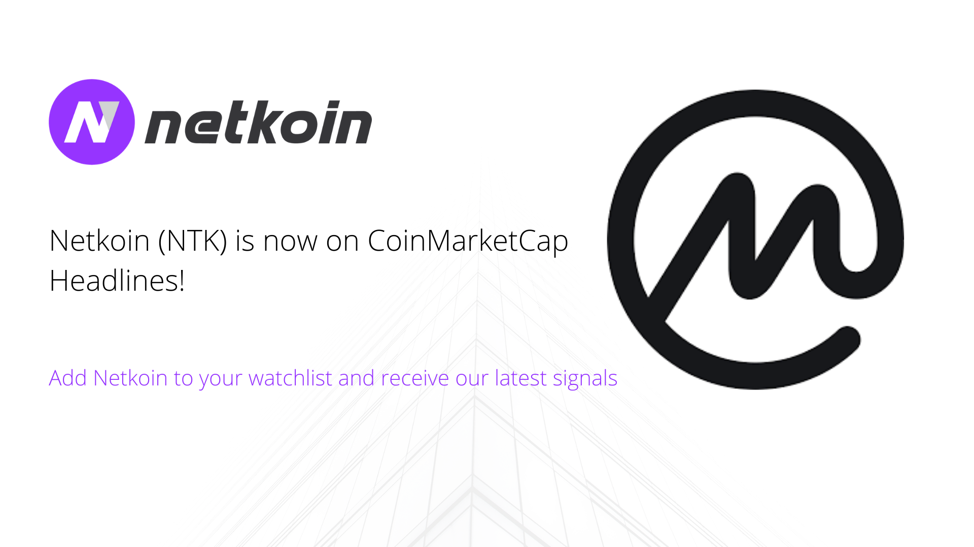 Netkoin is now on CoinMarketCap Headlines!