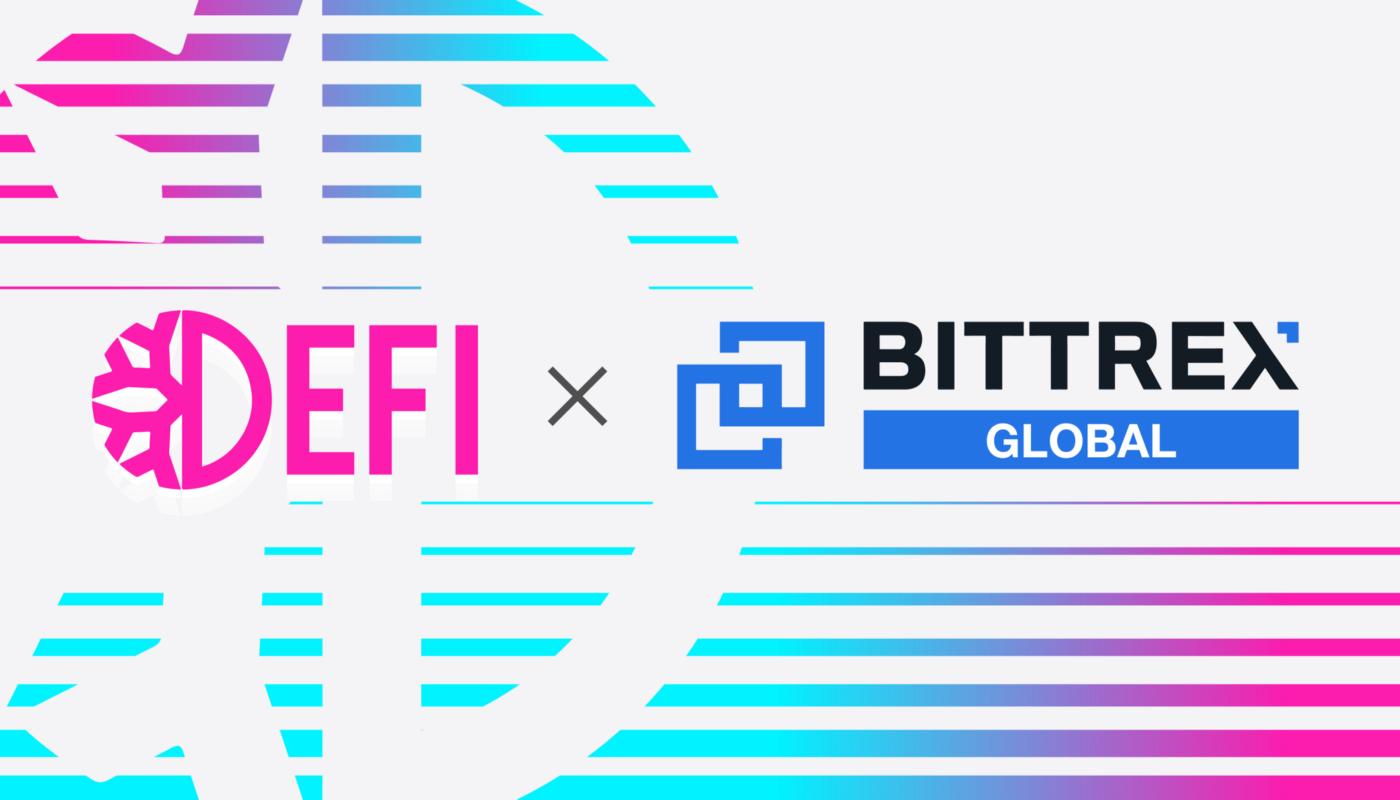 DeFiChain (DFI) listing on Bittrex! 🚀