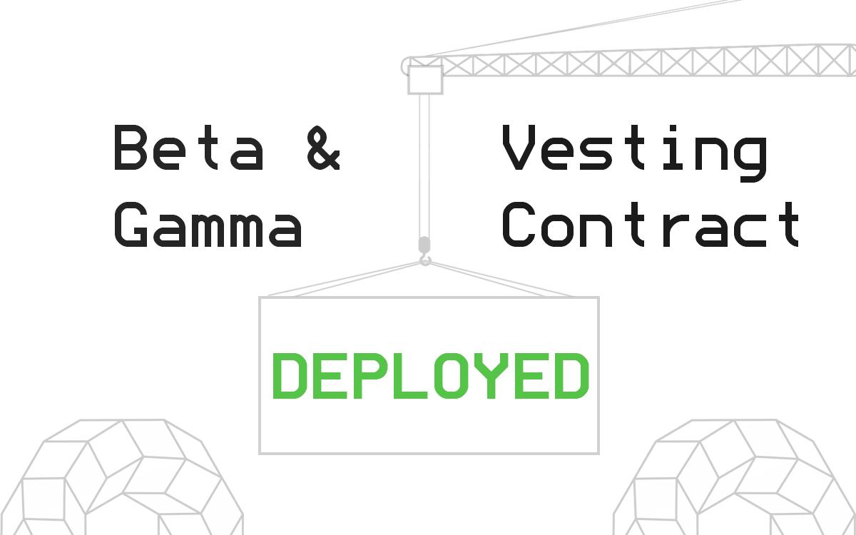 Vesting Contract / Votes Creation