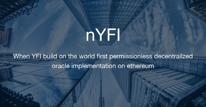 nYFI: Price Oracle for YFI Tokens on the NEST Protocol