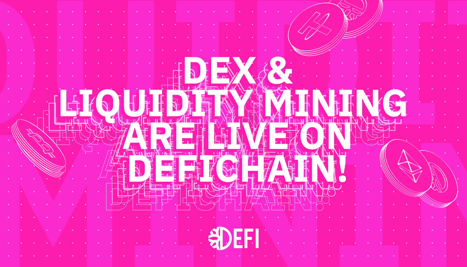 DeFiChain DEX is Live! $1.25M USD Value Locked within 24 hours!