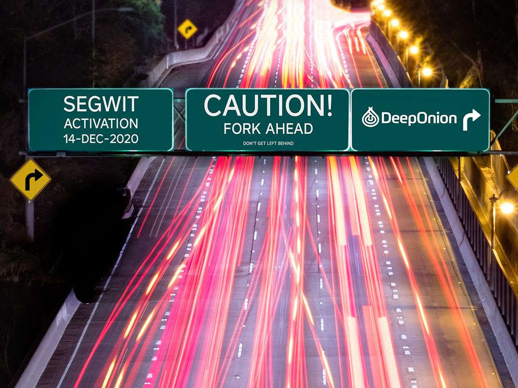 DeepOnion Segwit Wallet v2.2.0 Released - Mandatory Hard Fork Upgrade