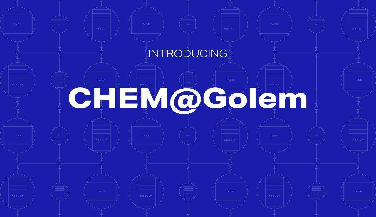 Announcing CHEM@Golem - new custom use-case for chemical reactions simulation