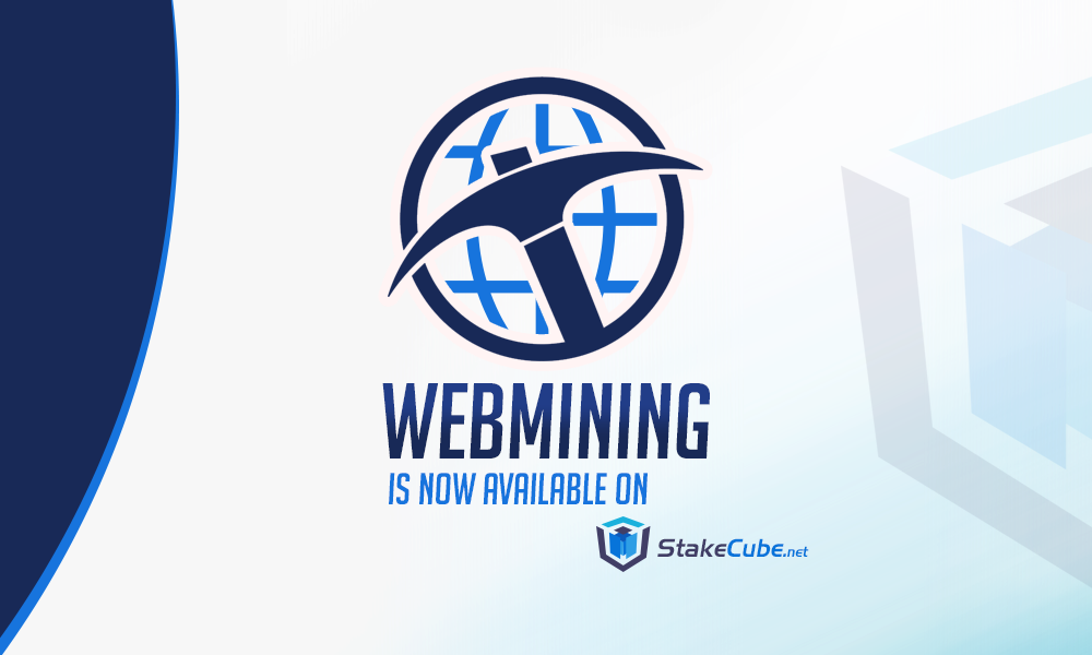 SCC Webmining Now Available On StakeCube.net