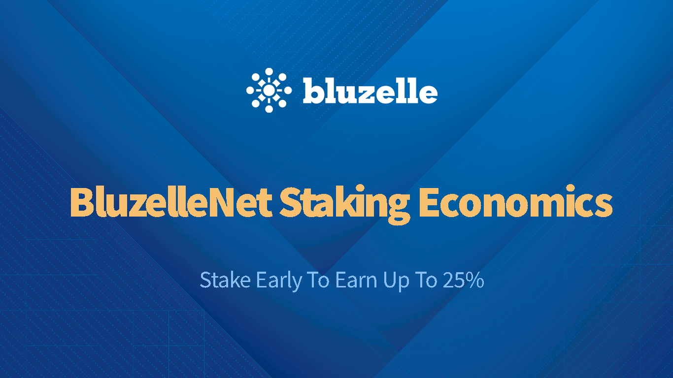 Bluzelle Released Staking Economics. Earn Up to 25% APY