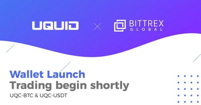 UQC listing on Bittrex Global with BTC-UQC AND USDT-UQC Pairs