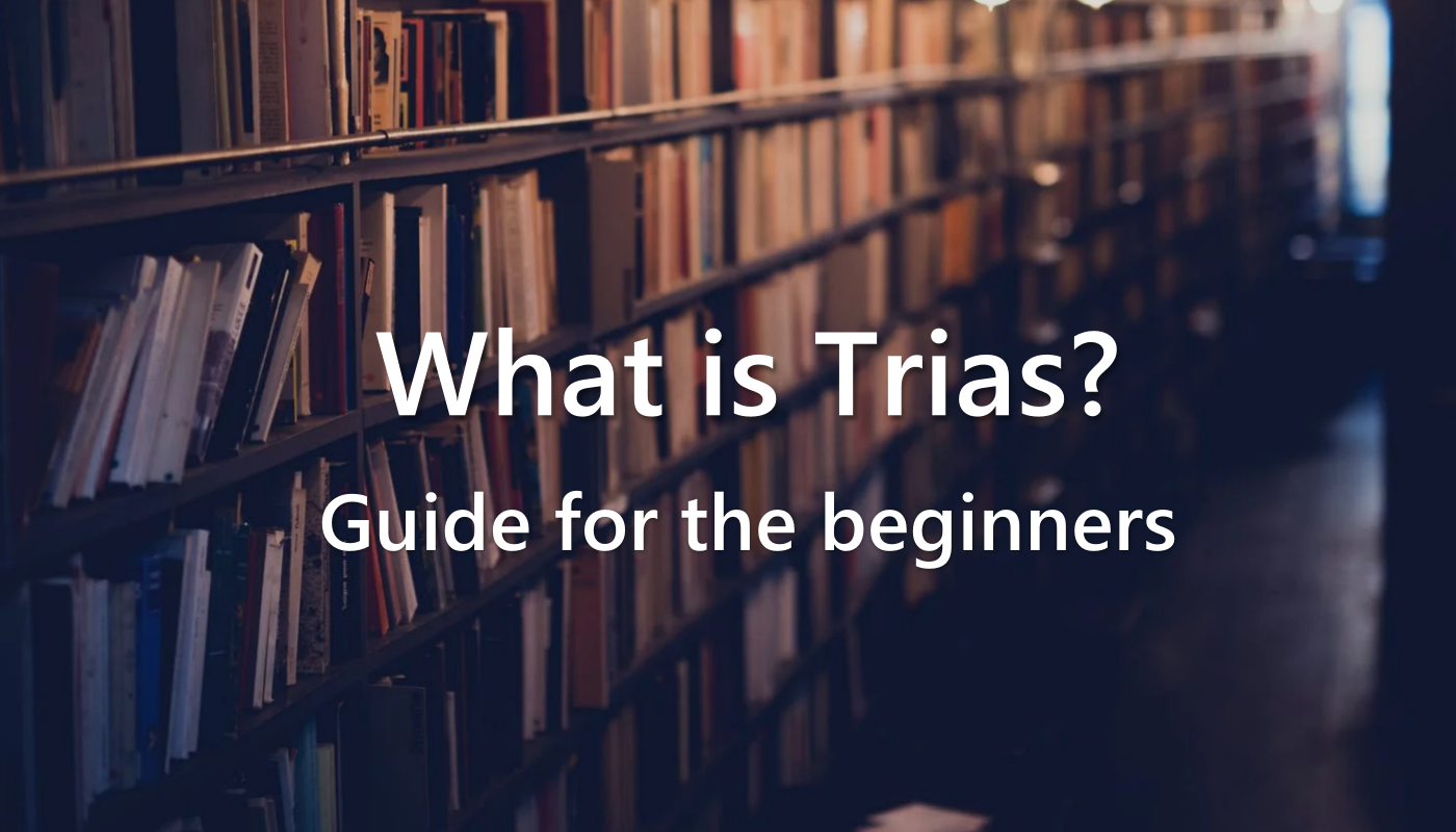 General Introduction of Trias: The Beginner's Guide